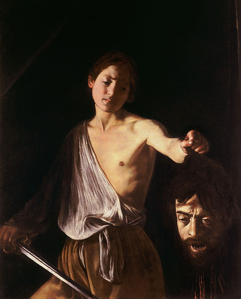 David with the Head of Goliath by Caravaggio | © Wikicommons