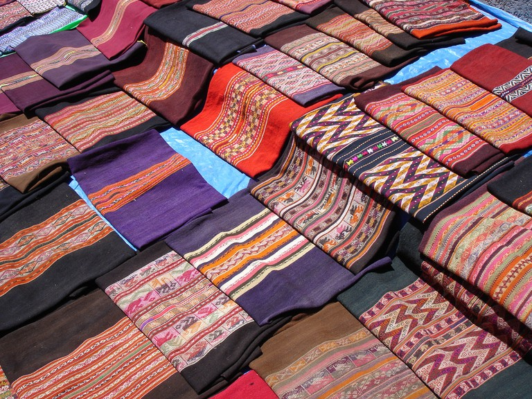 Bolivian Textiles | © SharonGraySalmons/Flickr