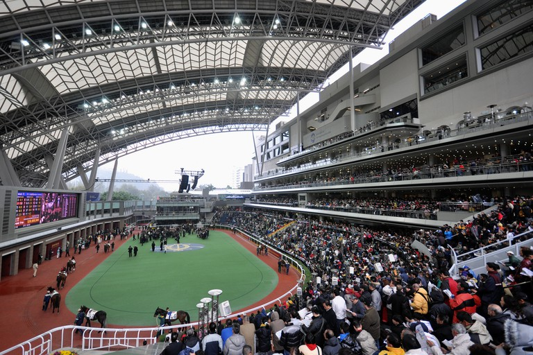The Sha Tin Racecourse on Chinese New Year Race Day