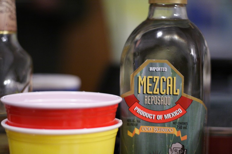 Mezcals use red solo cups | © Aaron Jacobs/Flickr
