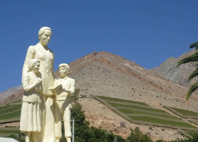 Monumento a Gabriela Mistral © Andrea Fernández