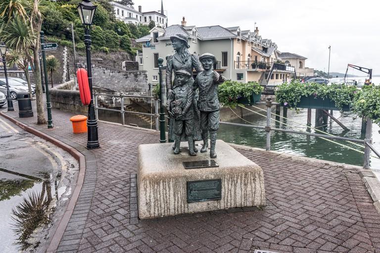 Annie Moore Memorial In Cobh (Cork) | © William Murphy/Flickr