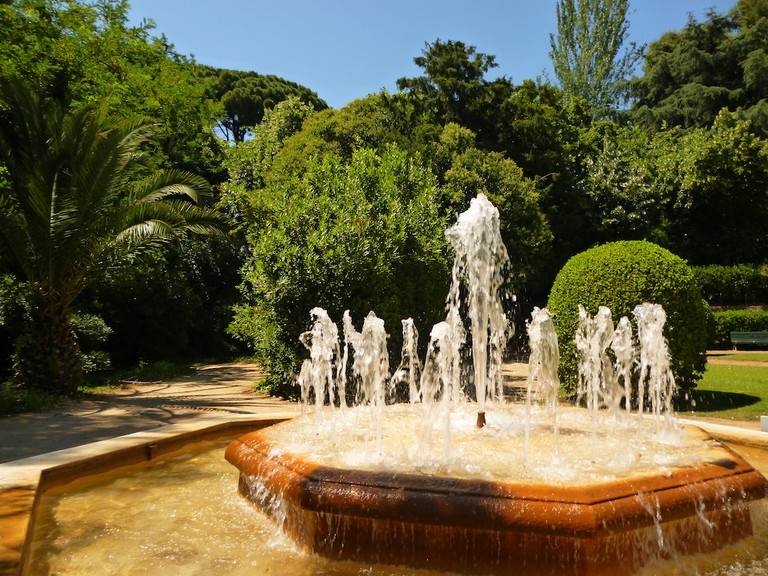 Details of the palace garden   © Oh-Barcelona.com