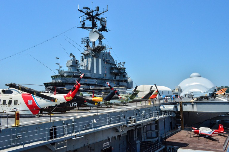 Intrepid Museum. | Courtesy Flickr.