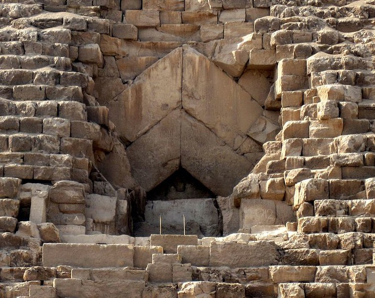 Entrance of The Great Pyramid