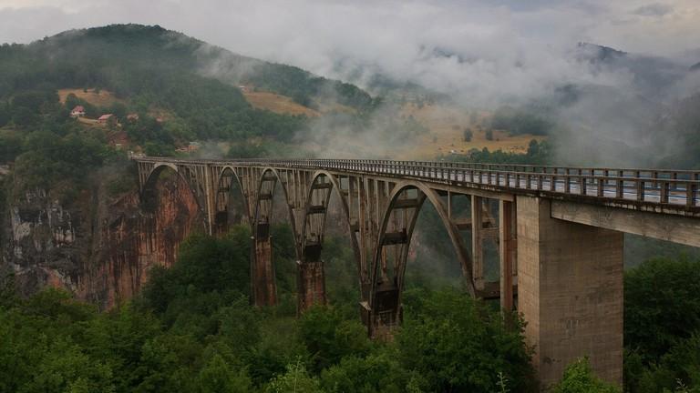 Tara bridge   © Leszek Leszczynski / Flickr