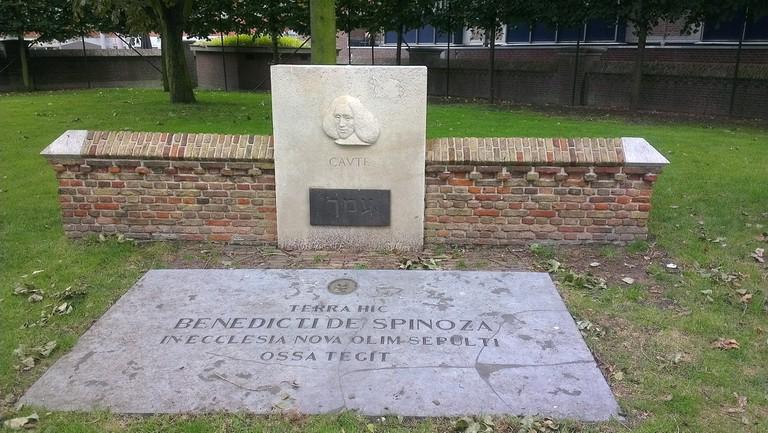 Spinoza's grave in Den Haag | © Robert / Flickr