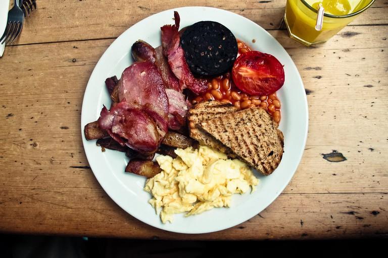 Full Scottish Breakfast | © Eddy Milfort/Flickr