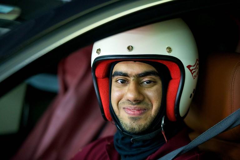Racing a Jaguar | ©Jaguar MENA / Flickr http://bit.ly/2judwtr