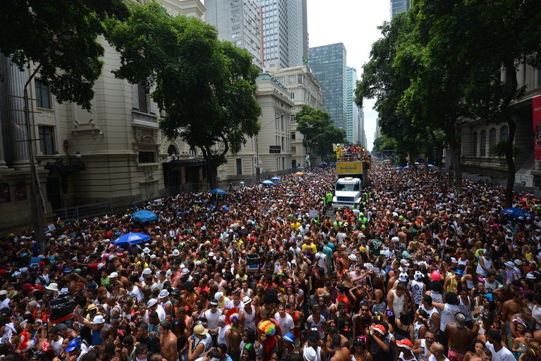 The crowds at the Cordão do Bola Preta bloco |© André Lobo|Riotur/Flickr