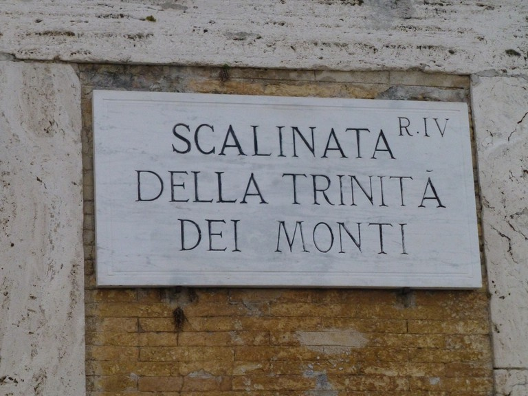 Rome street sign | © Jim McIntosh/Flickr