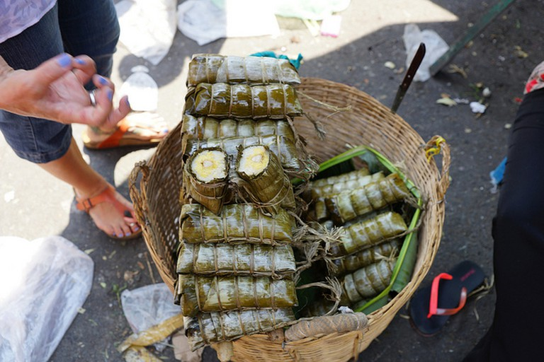 Rolled banana cake is a popular street snack sold across the country © Dion Hinchcliffe/Flickr www.flickr.com/photos/dionhinchcliffe/