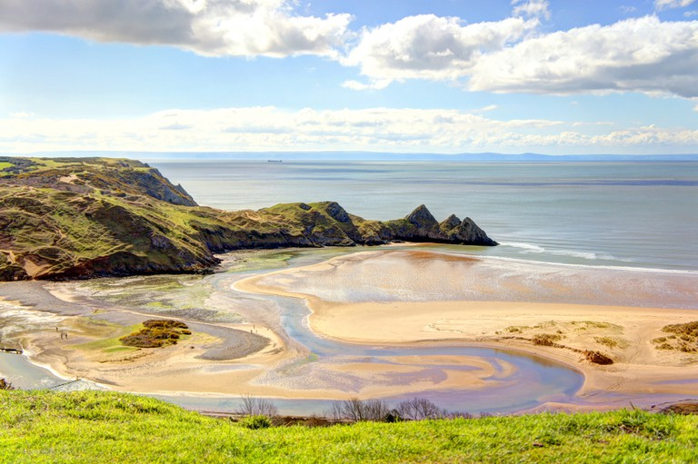 Three Cliffs Bay | © William Pearce/WikiCommons
