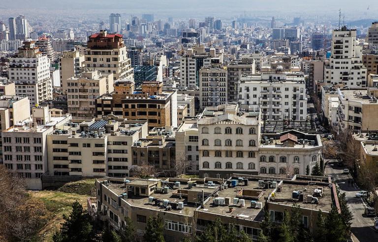 View of Tehran from the north   © Ninara / Flickr