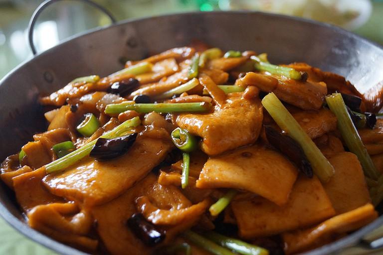 Finding vegetarian food is easier with Spoonhunt (c) Language teaching / Flickr