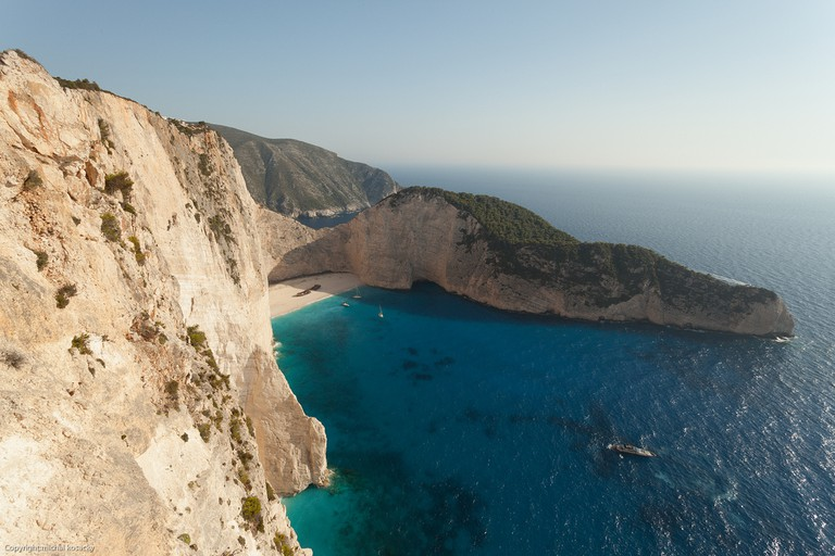 Navagio Beach from above | © Michal Kosacky/Flickr