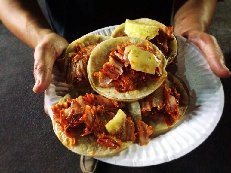 Tacos al pastor | © T.TSeng/Flickr
