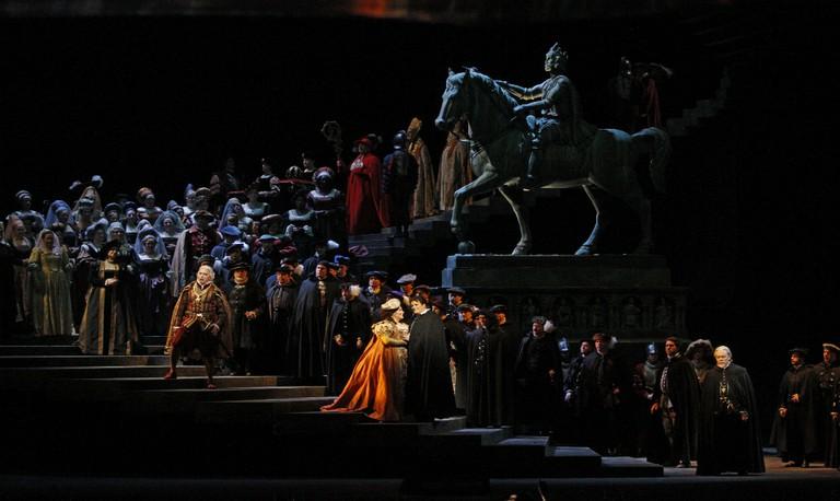 A scene from Verdi's Ernani © Marty Sohl / Flickr