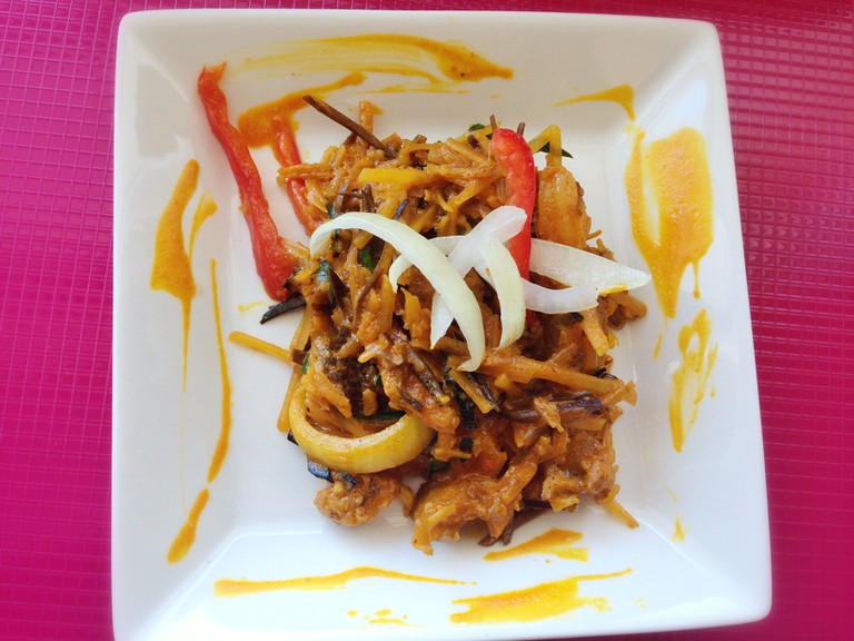Abacha, a delicacy from Eastern Nigeria