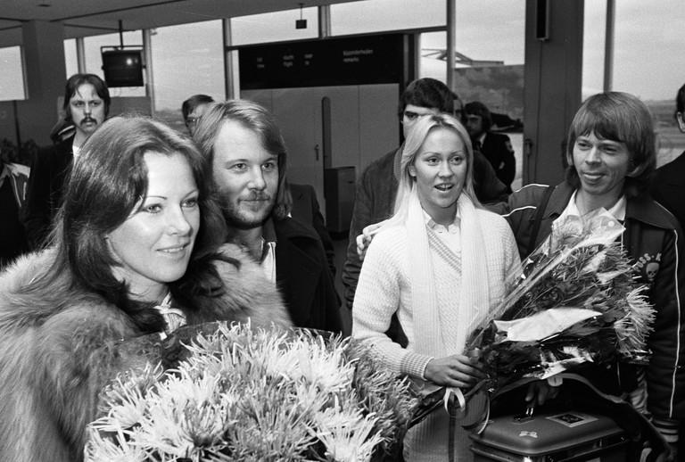 Sweden's first Eurovision winners Abba   ©doblecachanilla/Flickr