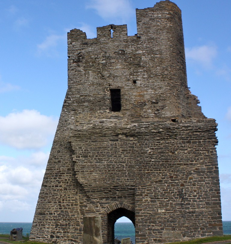 Aberystwyth Castle by the sea|©Kyle Taylor/Flickr