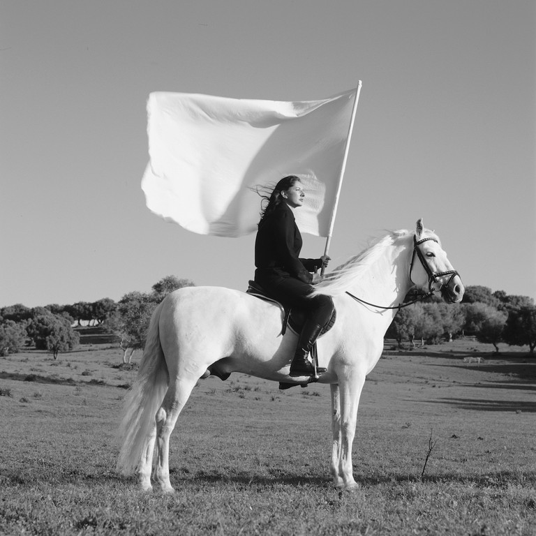Marina Abramović, The Hero, 2001. © Marina Abramović/Bildupphovsrätt 2016. Photo: © TheMahler.com. Courtesy of the Marina Abramović Archives