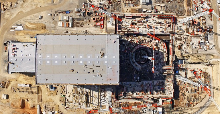 Aerial view of the ITER site │ © ITER Organization, EJF Riche