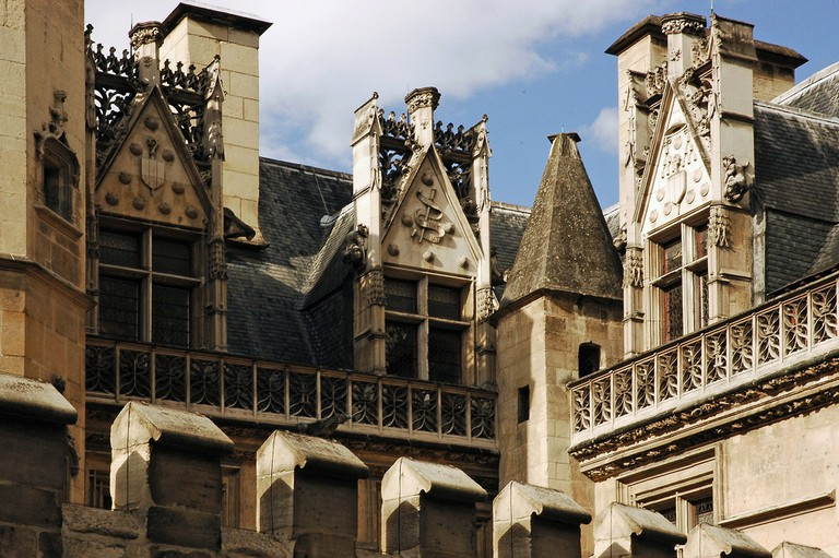 Architectural detail at the Musée de Cluny │© Romanceor / Wikimedia Commons