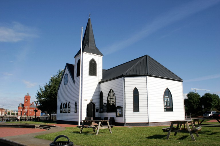 Norwegian Church, Cardiff Bay, South Wales.