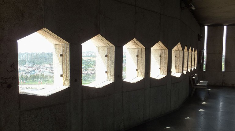 Upstairs observation deck of Azadi Tower | © Nasser-sadeghi / Wikicommons