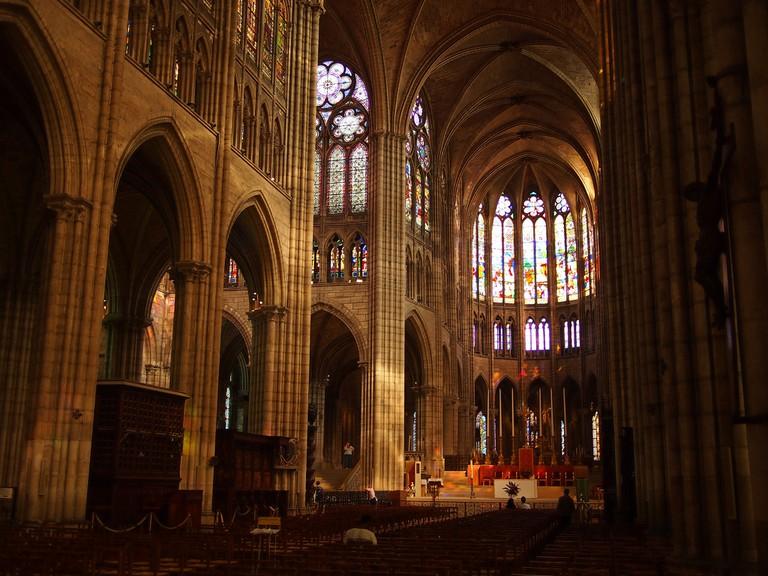 Basilique de Saint-Denis │© Francisco Gonzalez