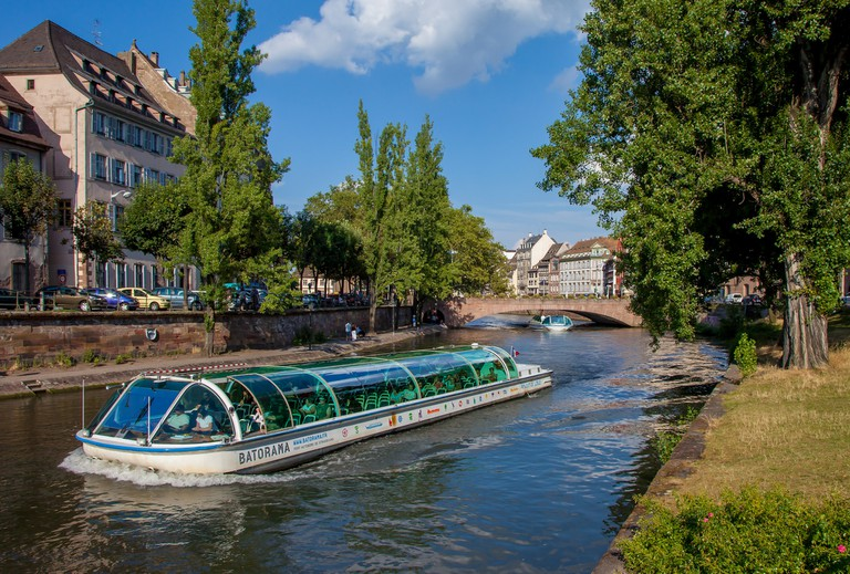 A boat tour of Strasbourg