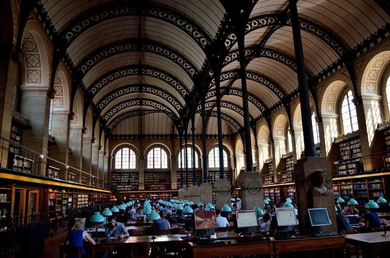 Bibliothèque Sainte-Geneviève │© Tom Hilton