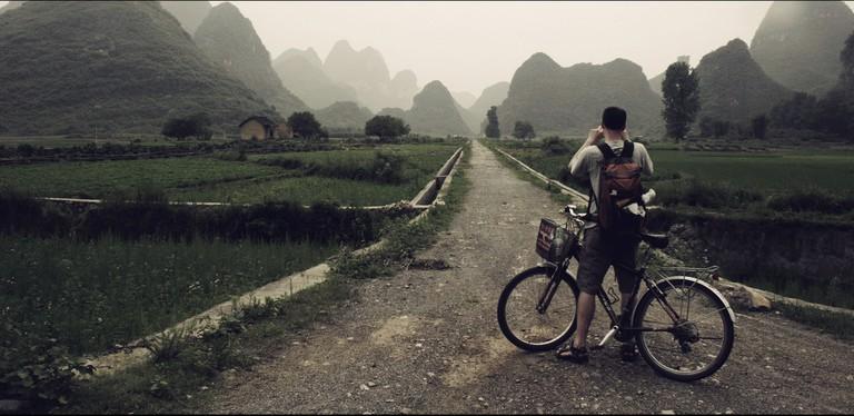 Biking in Yangshuo