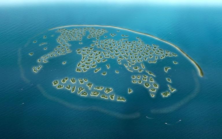 World Islands in Dubai | Online Design http://bit.ly/2kKhboe