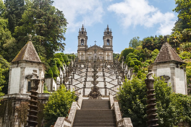 Bom Jesus church in Braga, Portugal| © Lev Levin/Shutterstock