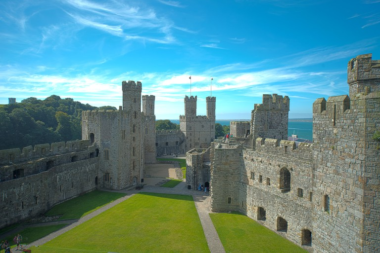 The impressive Caernarfon Castle ©Steve Collins/Flickr