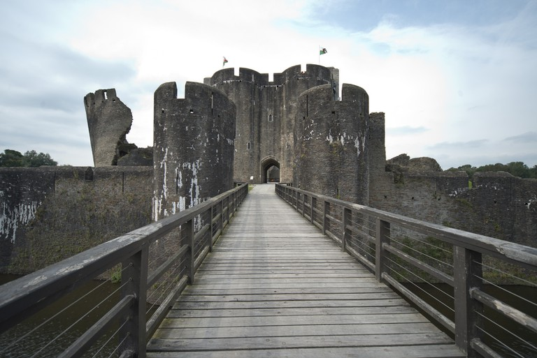 Caerphilly Castle|©Steve Collis/Flickr