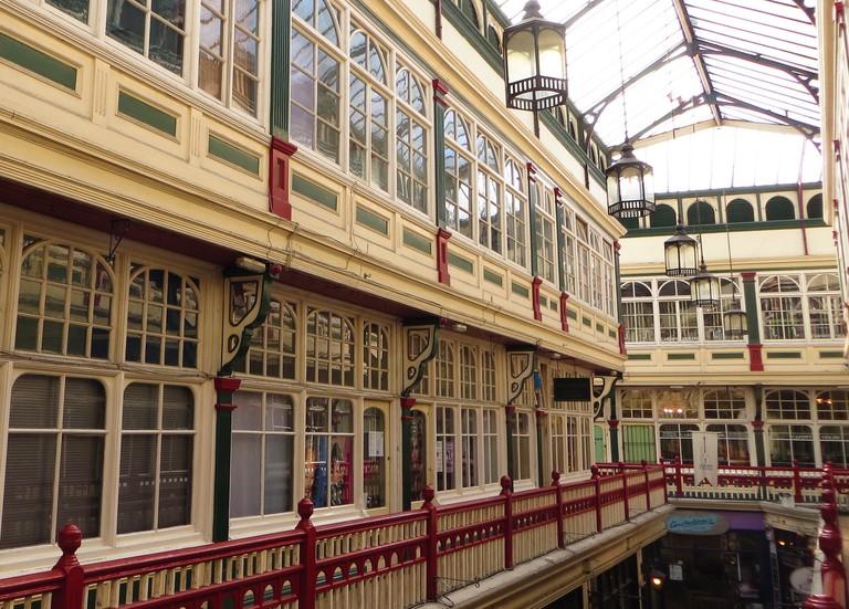Cardiff's romantic arcades
