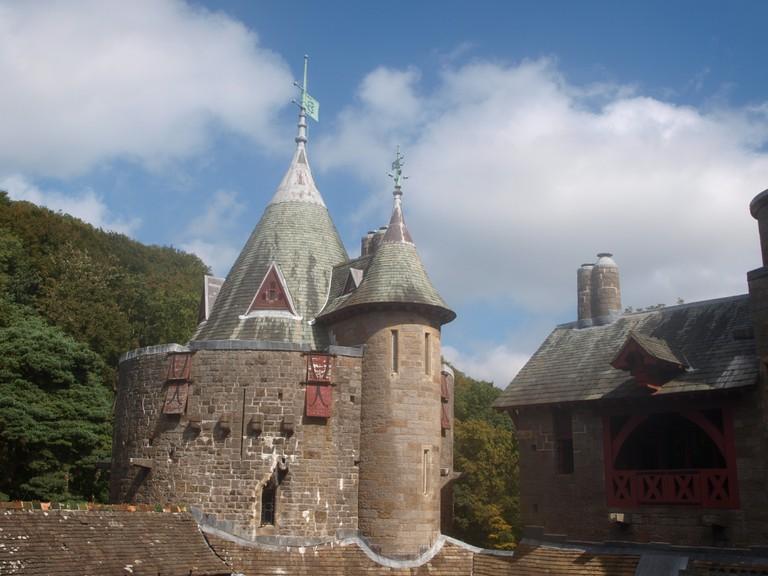 Castell Coch turret ©Martin Weller/Flickr