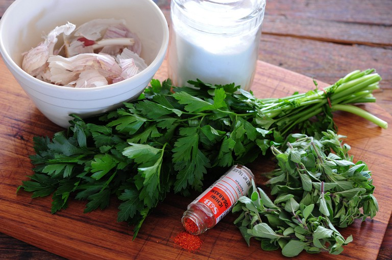 Herbs used in chimichurri | © Jules/Flickr