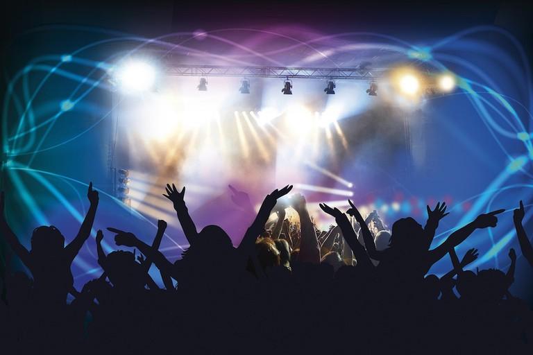 Celebrate the new year in a nightclub