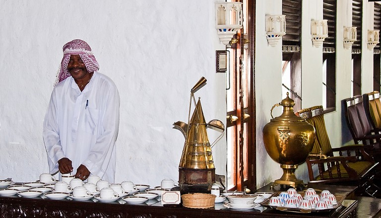 Coffee time at the Arabic Coffee Terrace, Serena Beach Hotel in Mombasa   © John Hickey-Fry / Flickr