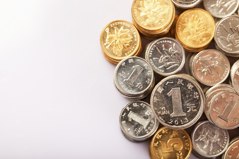 Chinese Silver Coins | © Maoyunping/Shutterstock