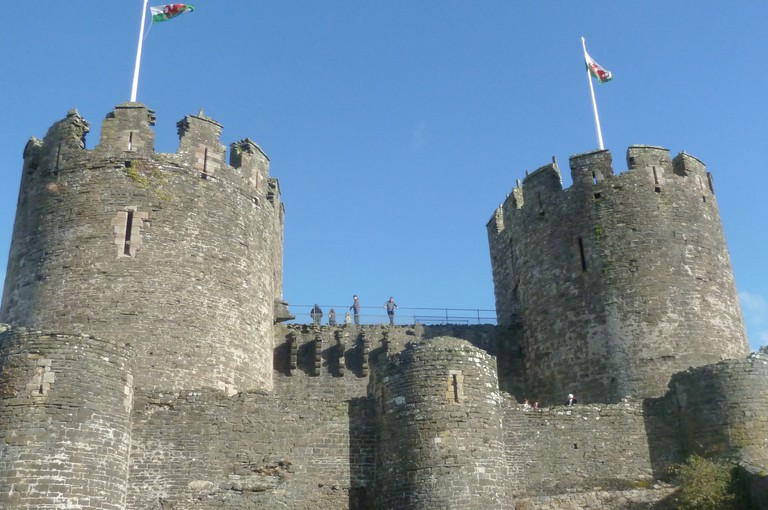 Conwy Castle in the sun|©Carlton Browne/Flickr