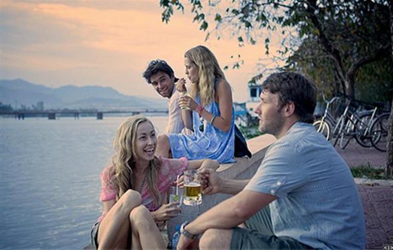 A scene shot at Sihanoukville