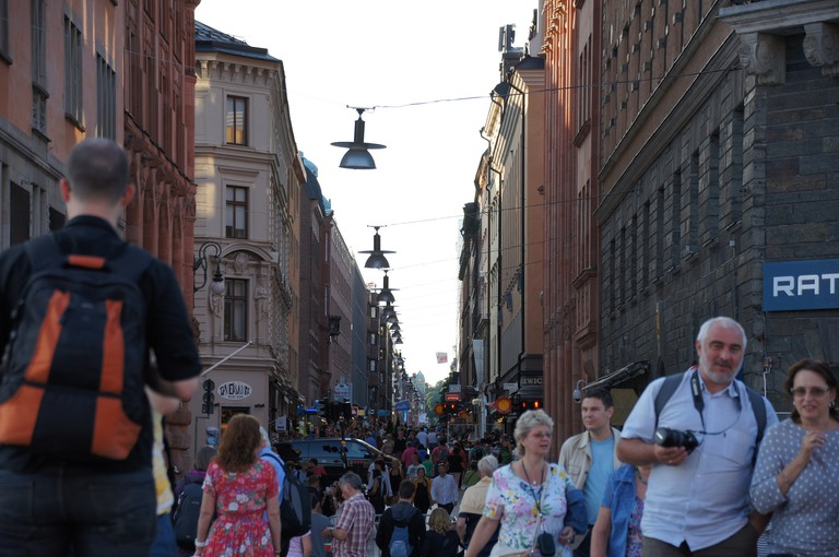 Drottninggatan: Stockholm's busiest shopping street | ©Fredrik Rubensson/Flickr