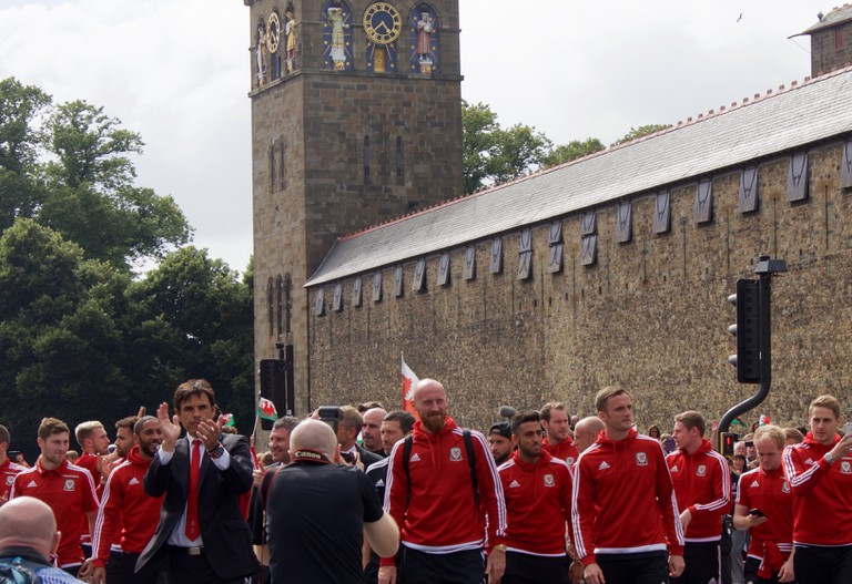 FAW celebrate EURO 2016 success at Cardiff Castle