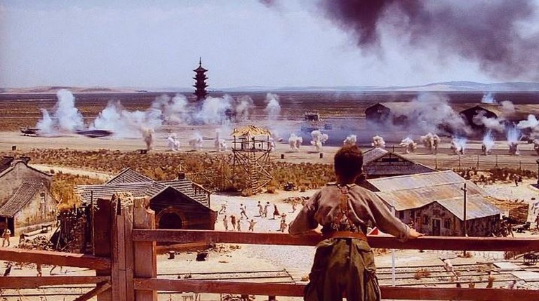 Empire of the Sun Longhua Pagoda | Courtesy of Warner Bros.