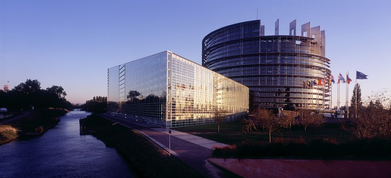 European Parliament building in Strasbourg © CRTA / Zvardon / Tourisme Alsace dot com